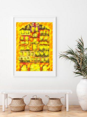 Pintura Casa dos Mercaderes