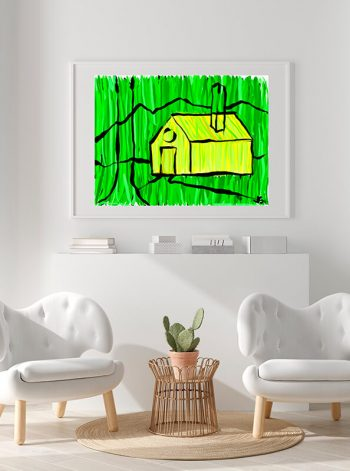 Cuadro de una casa